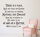 There is a place mad hatter