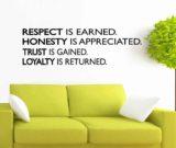 RESPECT HONESTY TRUST